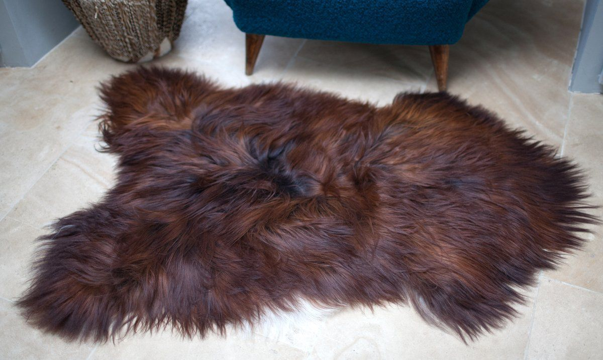 Blacky-Rusty Icelandic Sheepskin M