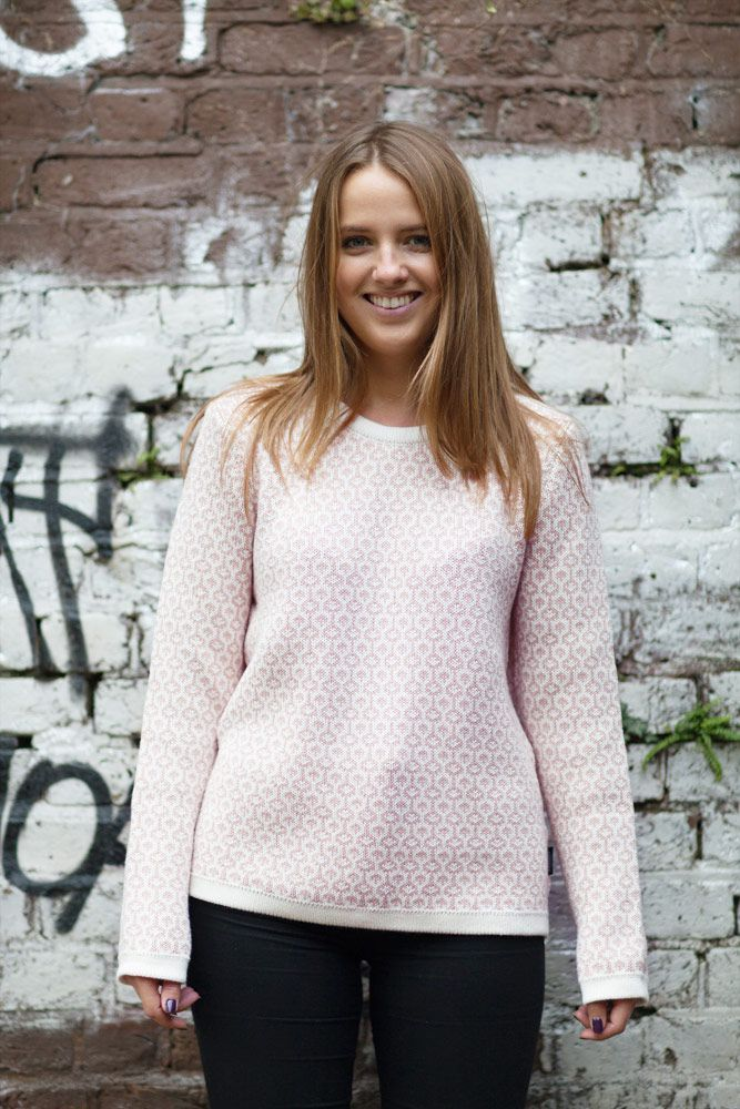 Holebrook Edda in Off White and Dusty Rose