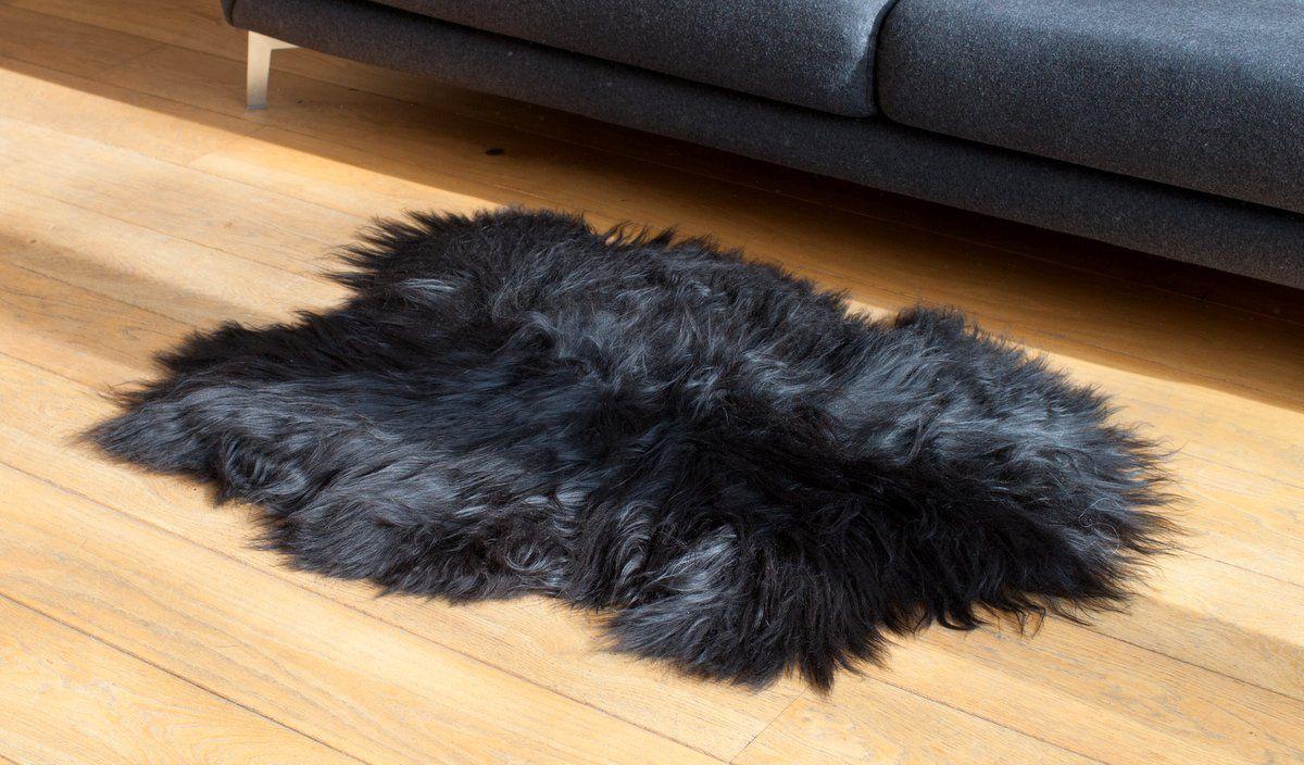 Blacky-Brown Icelandic Sheepskin M