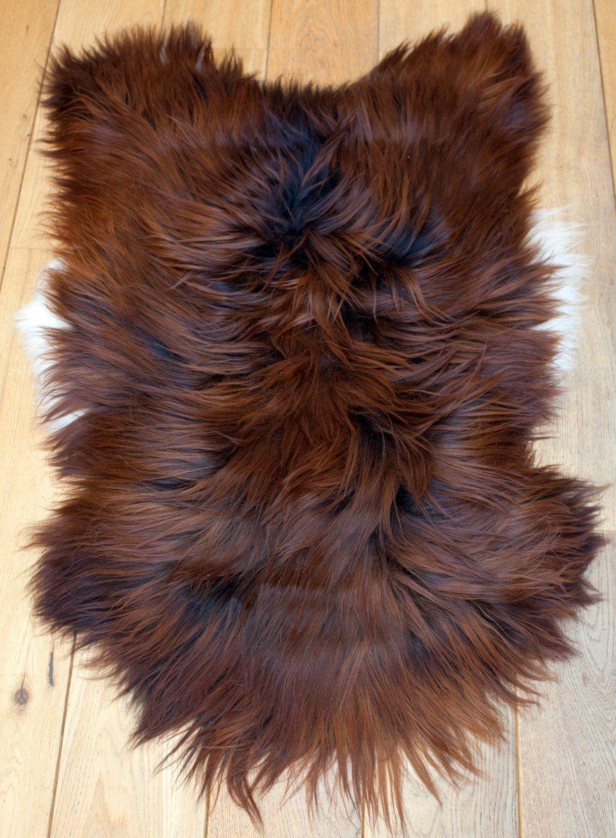 Blacky-Rusty Icelandic Sheepskin L