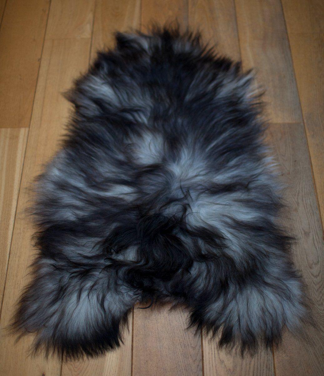 Grey Icelandic Sheepskin M