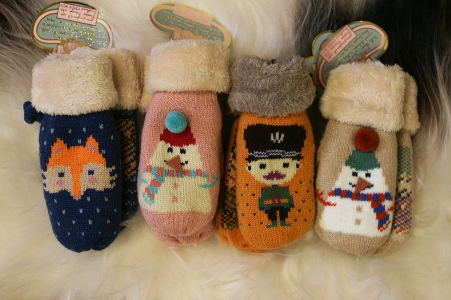powder kids mittens