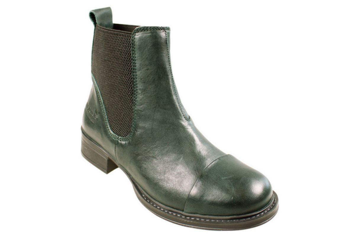 Ten Points Pandora Green Chelsea Boot Short