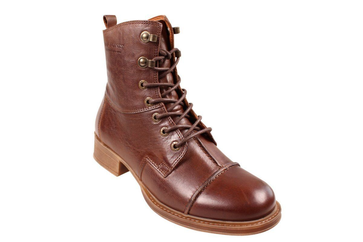 Ten Points Pandora Lace-Up Boot in Brown