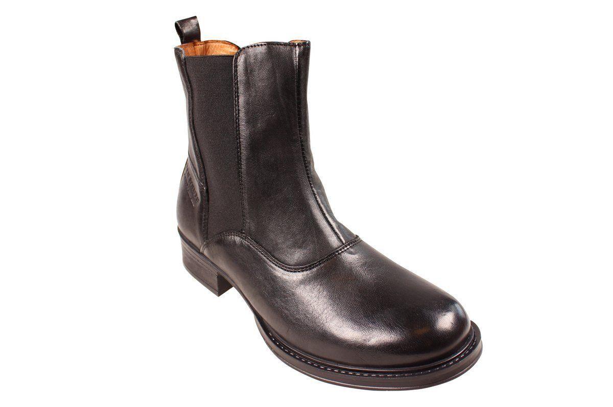 Ten Points Pandora Black Chelsea Boot Long