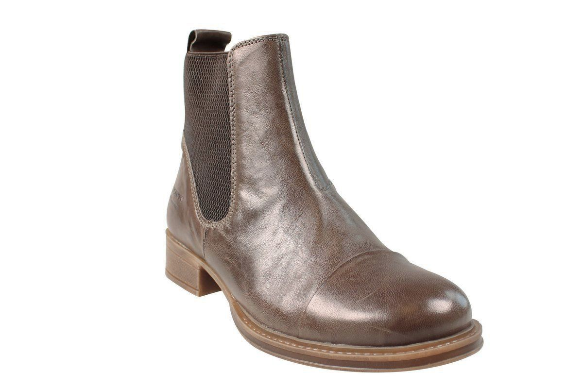 Ten Points Pandora Taupe Chelsea Boot Short