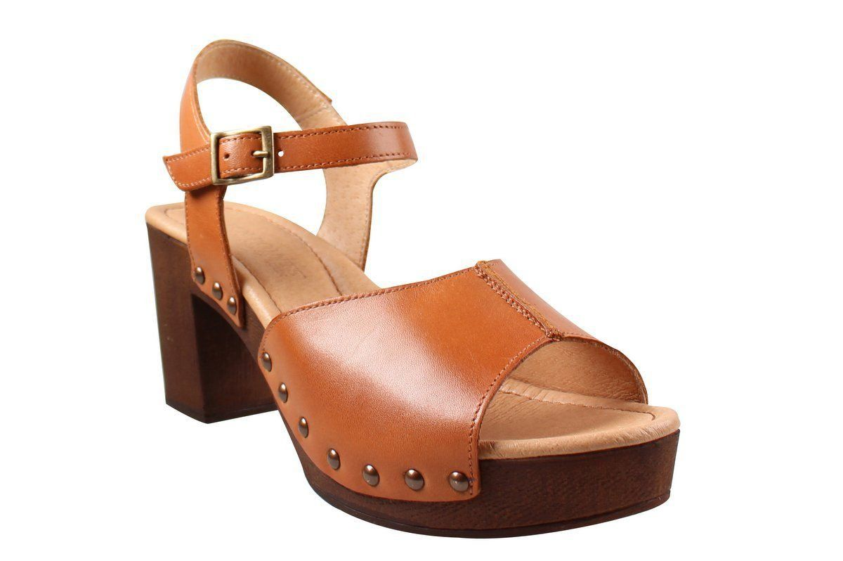Ten Points Eva Open Toe Sandal Cognac