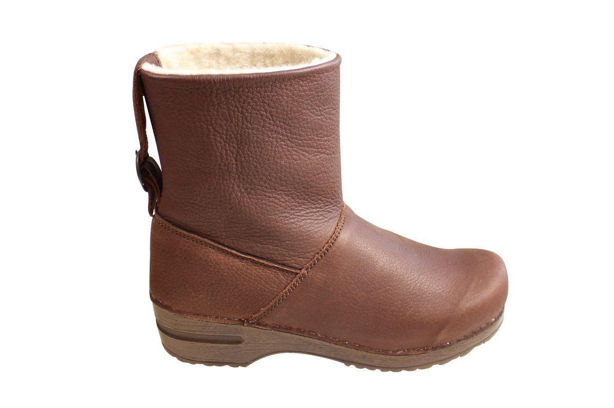 Sanita Odille Soft Sole Boot Antique Brown