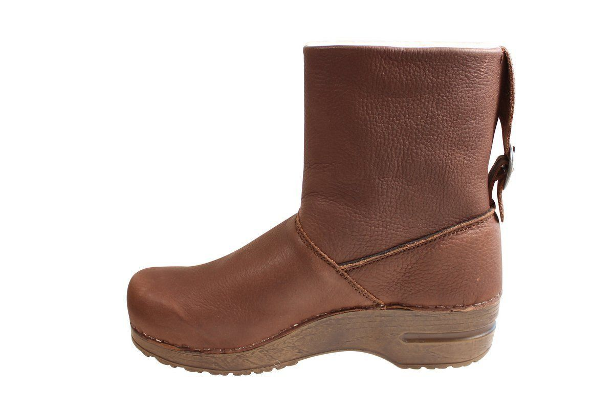 Sanita Odille Soft Sole Boot Antique Brown