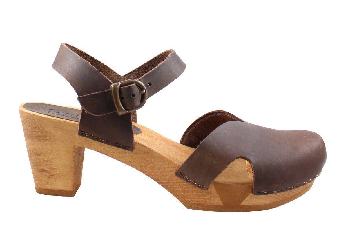 Sanita Matrix Flex Sandal Antique Brown