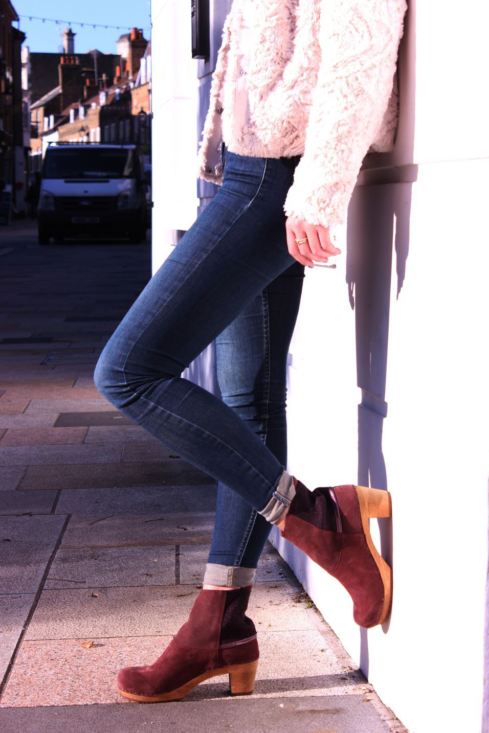 Sanita Lilly Boot Aubergine Seconds