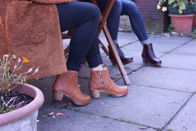 Maguba Auckland Clog Boots Tan