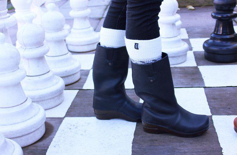 Sanita Louisa Black Soft Sole Boots