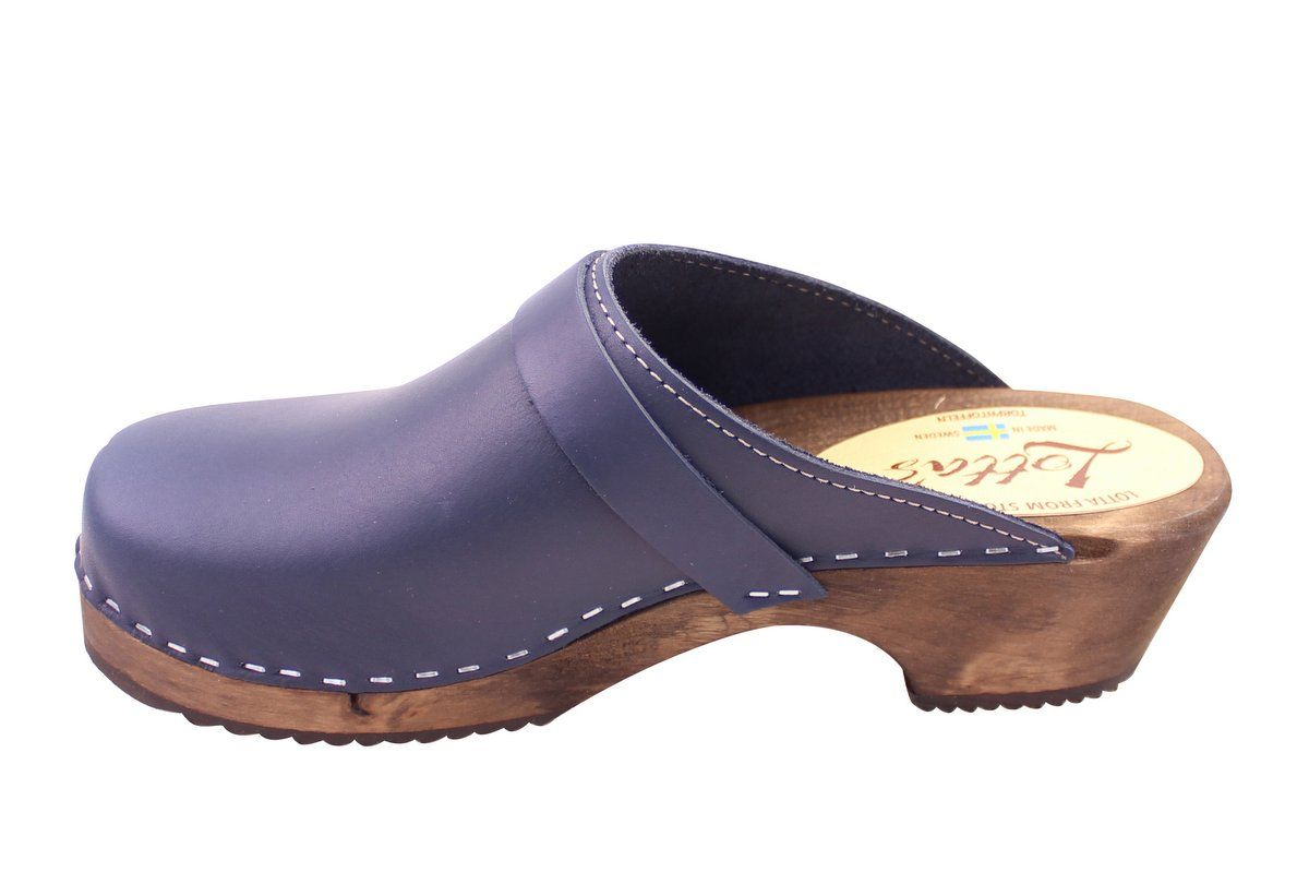 Classic Navy on Brown Base Seconds