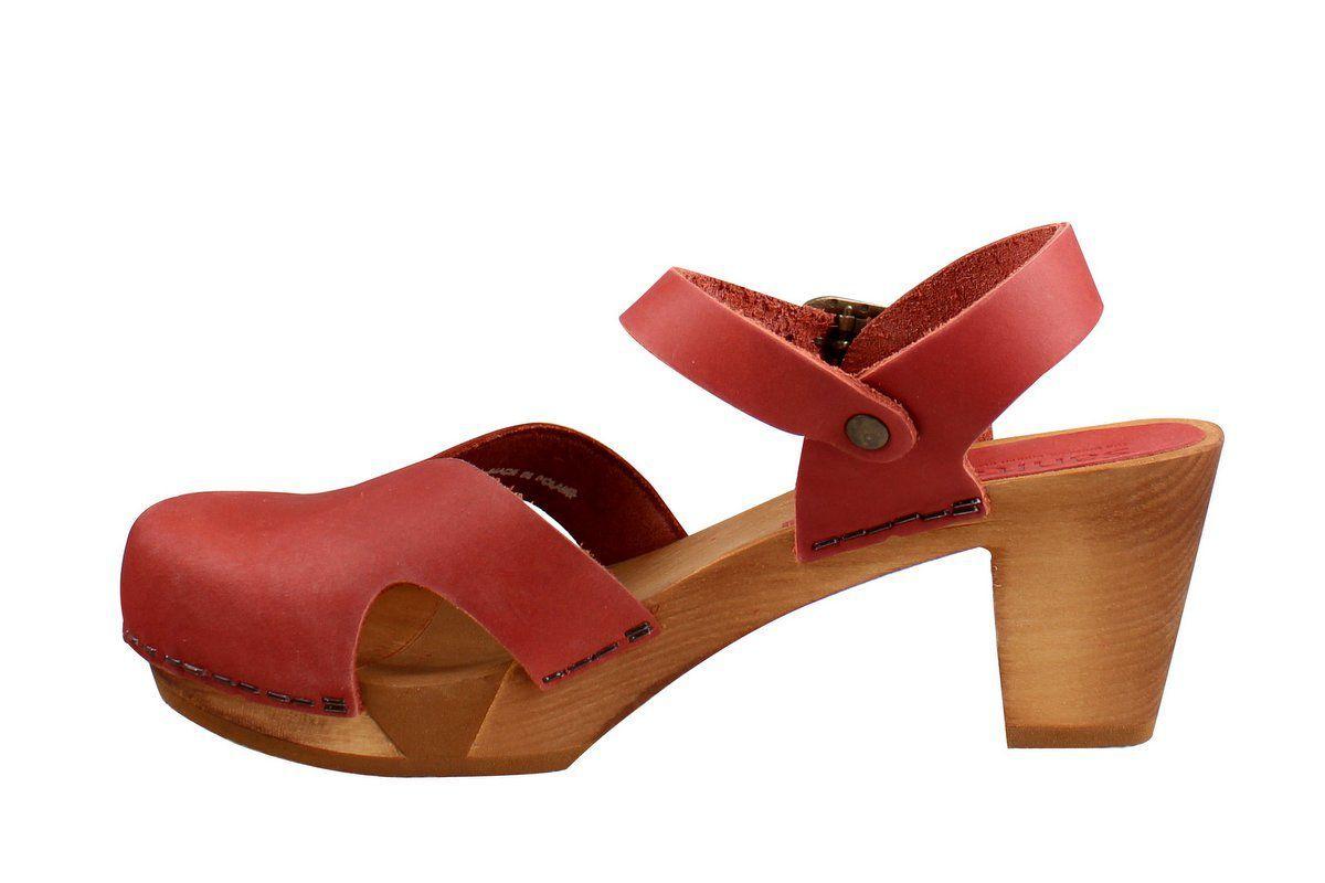 Sanita Matrix Flex Sandal Dark Red