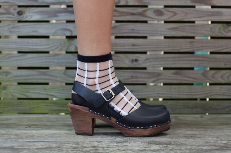 Unmade Copenhagen Jasone Sock in Black