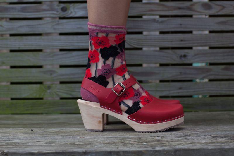 Unmade Copenhagen Alvera Sock in Rosette