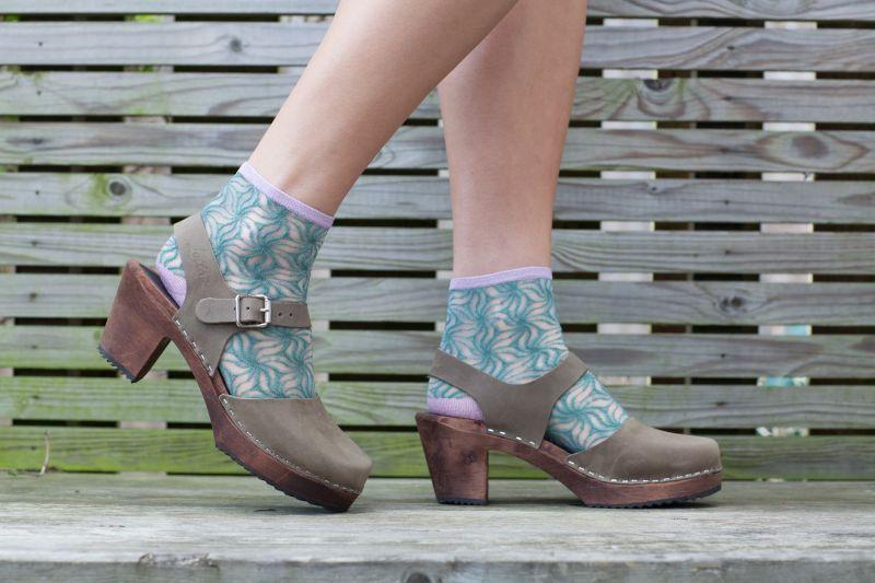 Unmade Copenhagen Ciri Sock in Granite Green