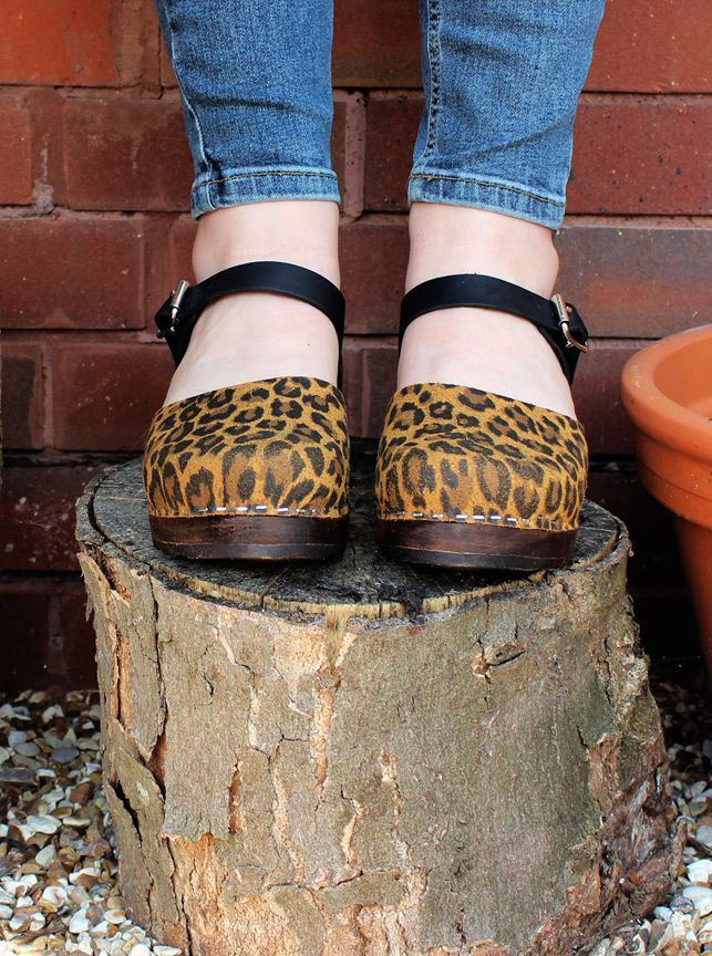 Low Wood in Leopard and Black on a Brown Base Seconds
