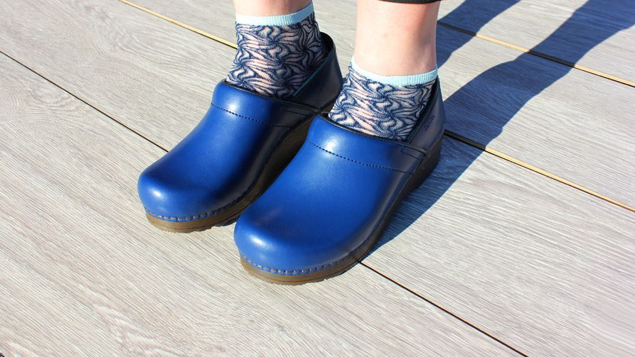 Sanita Izabella Clog in Blue