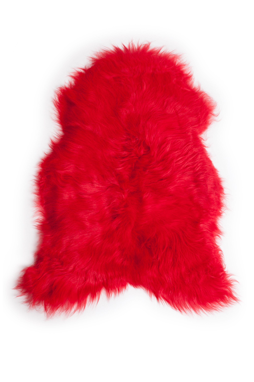 Red Icelandic Sheepskin