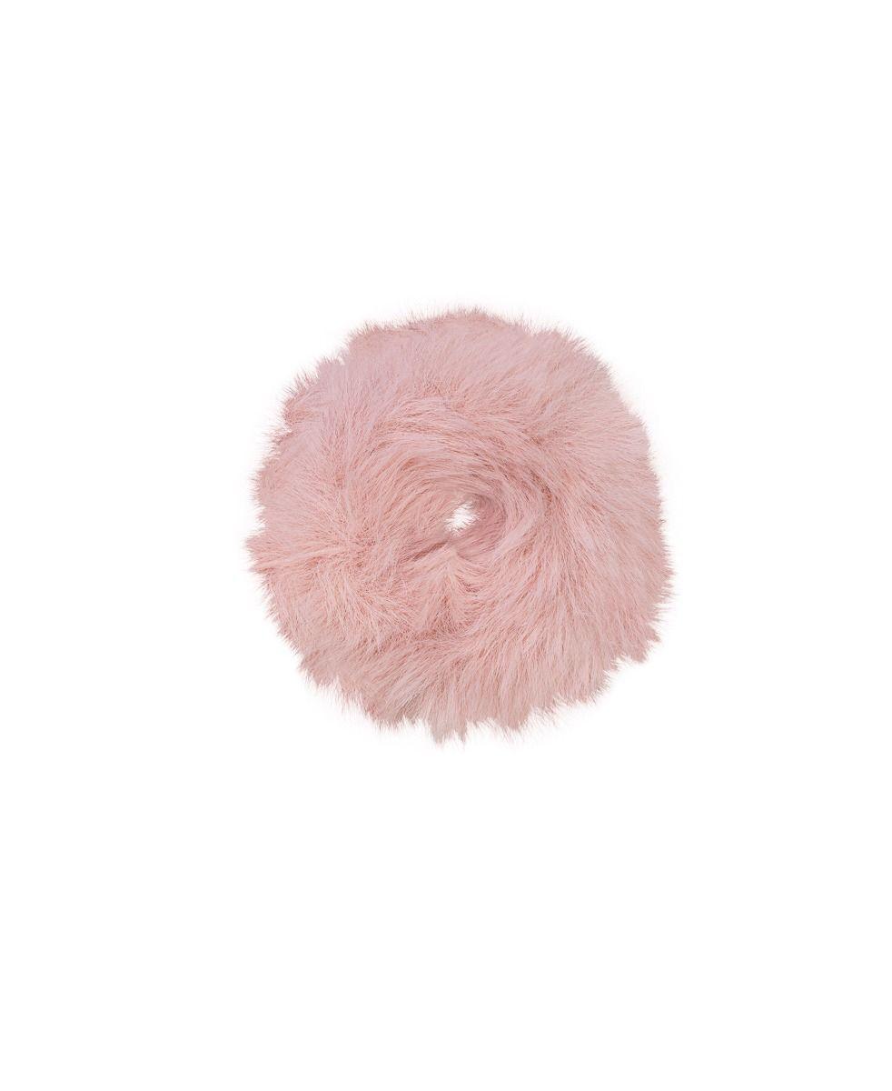 Unmade Copenhagen Odessa Scrunchie in Primrose Pink