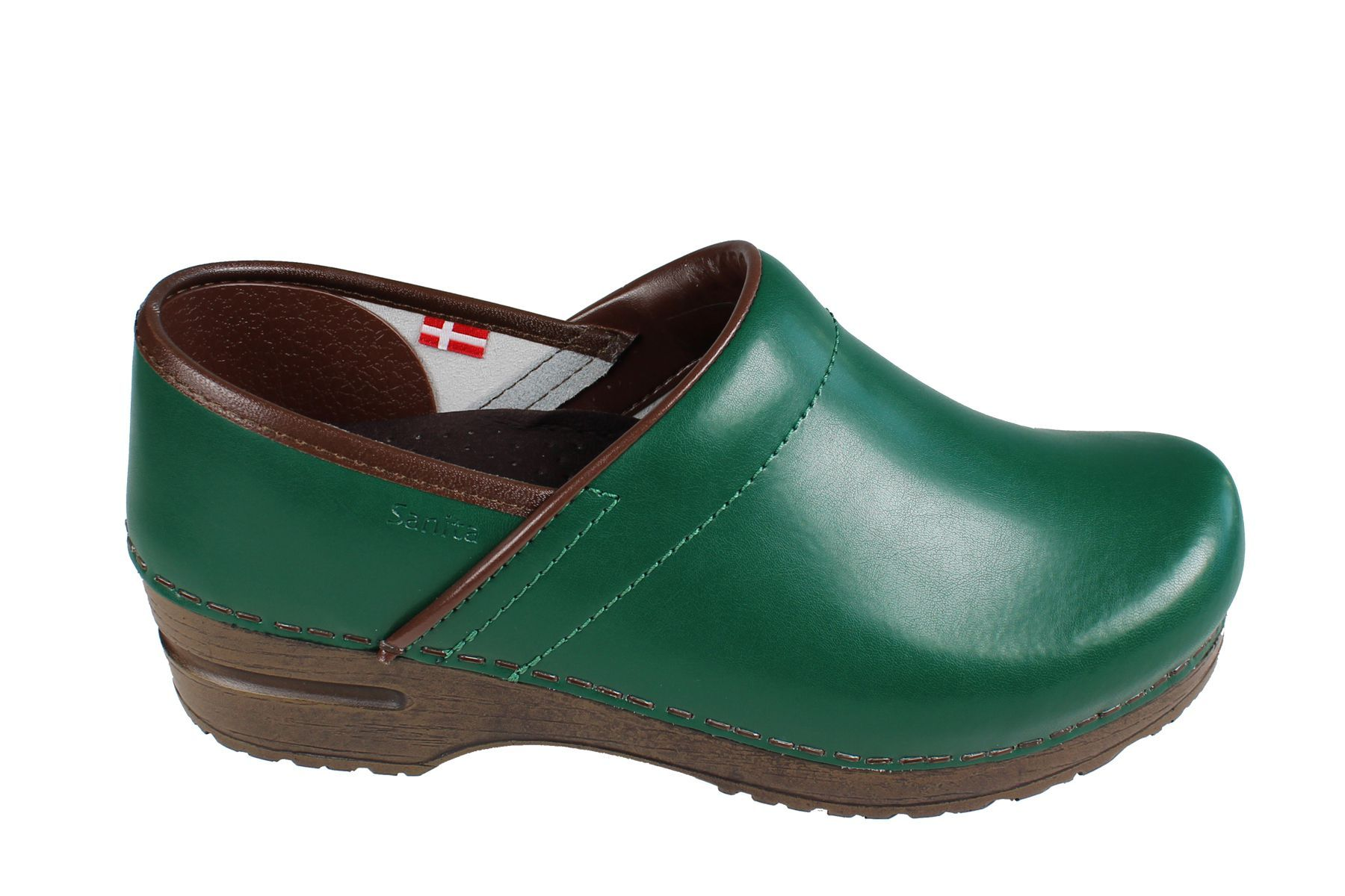 Sanita Izabella Clog in Green