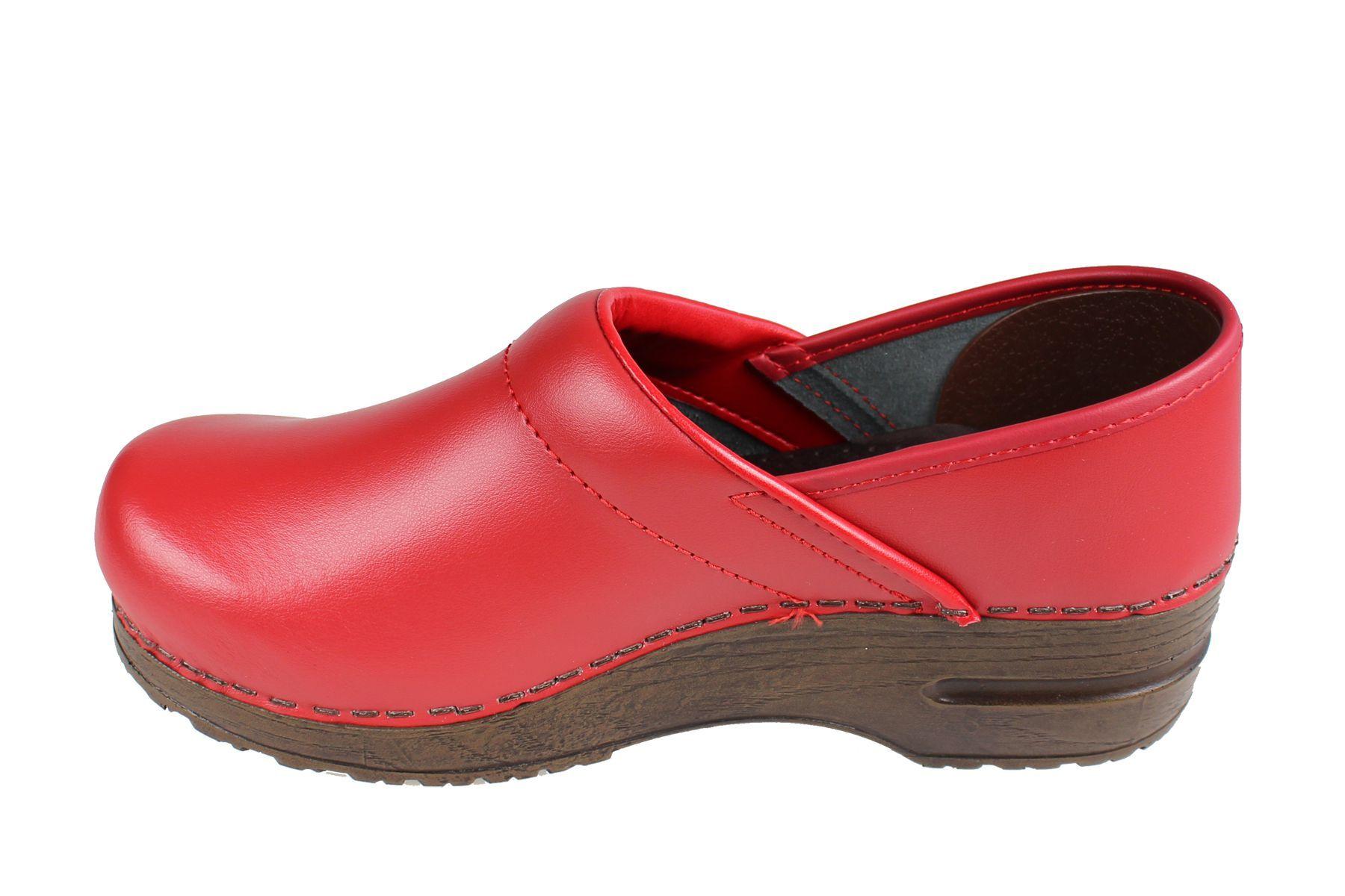 Sanita Izabella Clog in Red