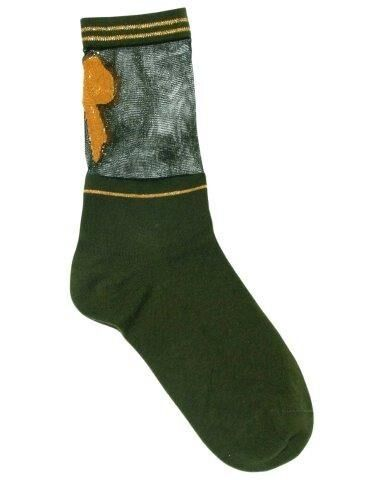Unmade Copenhagen Garland Sock in Winter Moss