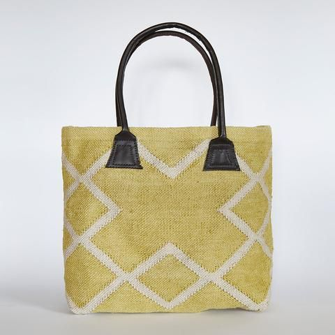 weaver green juno bag in gooseberry