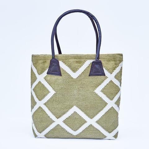 weaver green juno bag in lichen