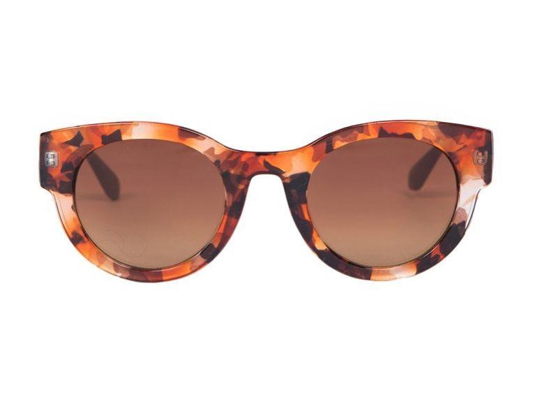 Powder Kelly Sunglasses in Amber
