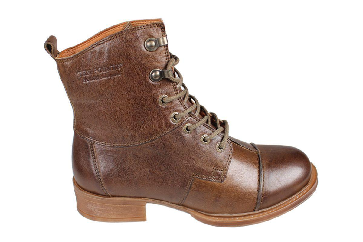 Pandora Lace-Up Boot in Khaki
