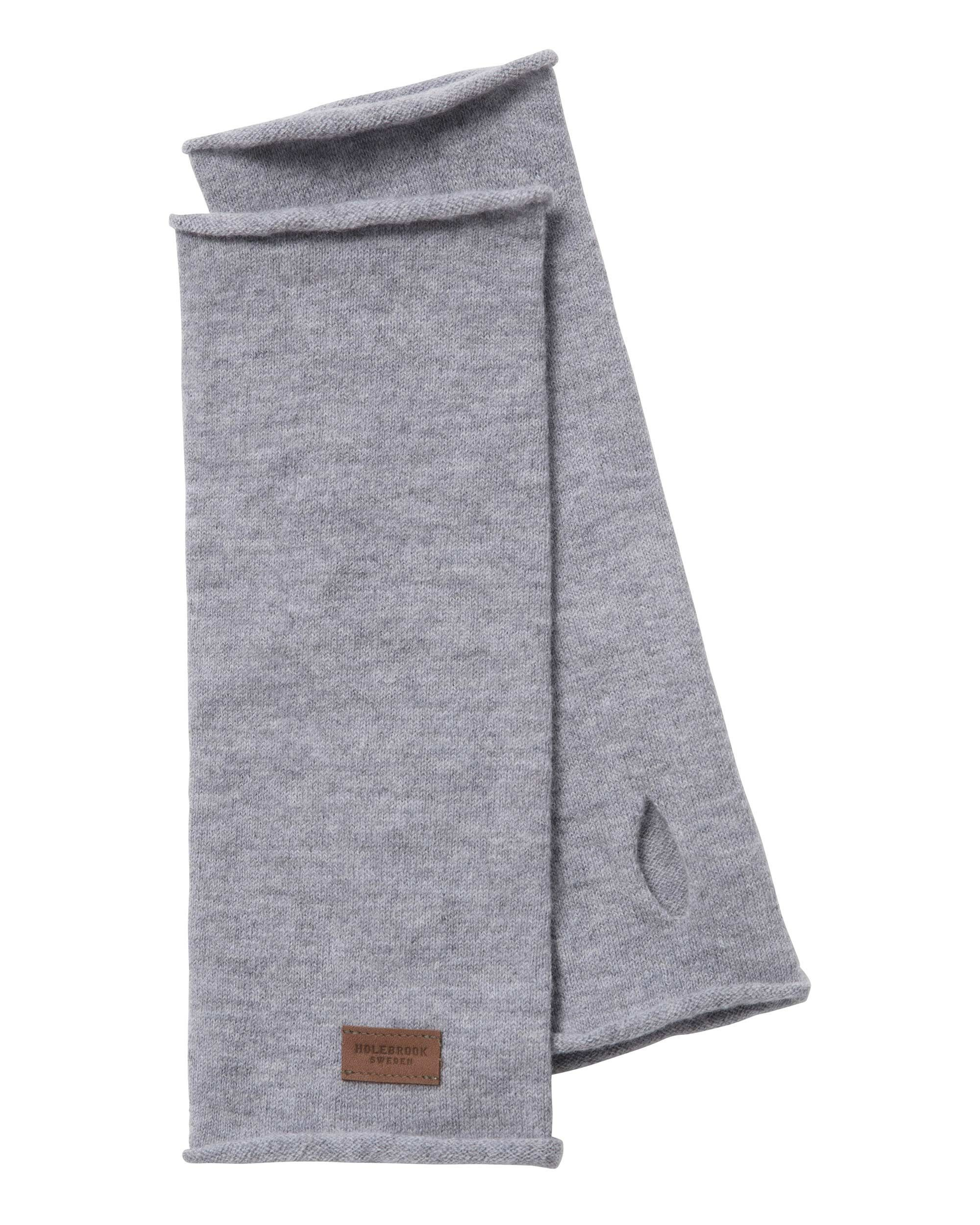 Holebrook Smögen Wristwarmer in Light Grey