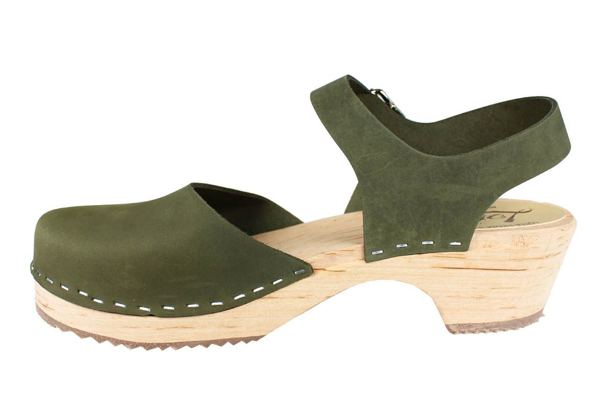 Low Wood Green Oiled Nubuck