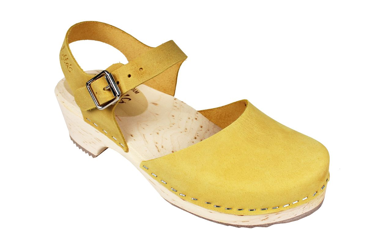 Low Wood Yellow Oiled Nubuck Seconds