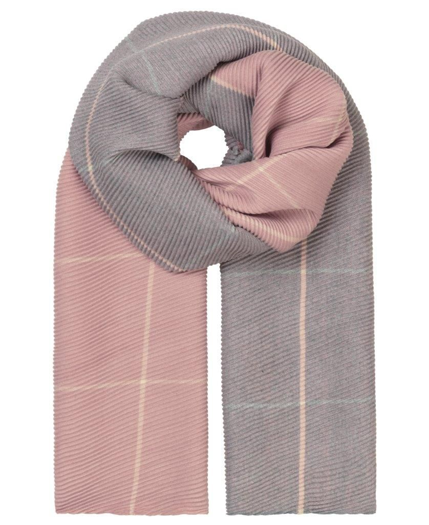 Unmade Copenhagen Banu Recycled Polyester Scarf in Primrose Pink