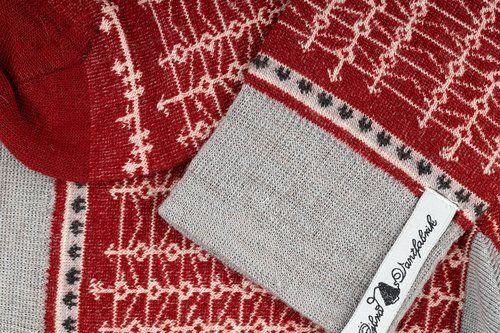 Öjbro Men's Ekshärad Röd Merino Wool Sock