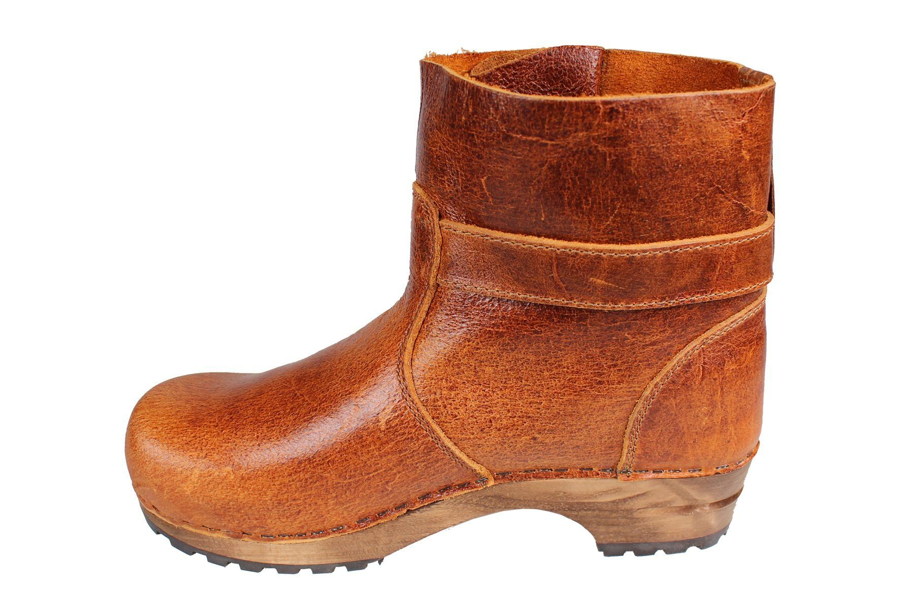 Lotta's Mina Clog Boot in Cognac