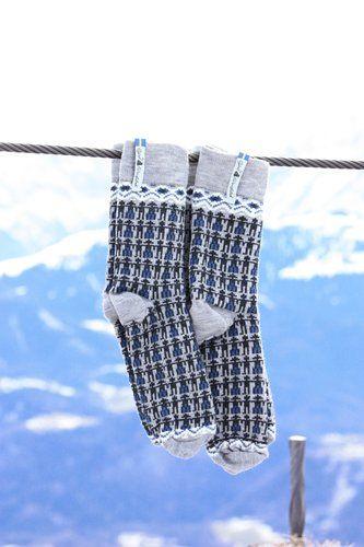 Öjbro Men's Kören Kerstin Merino Wool Sock