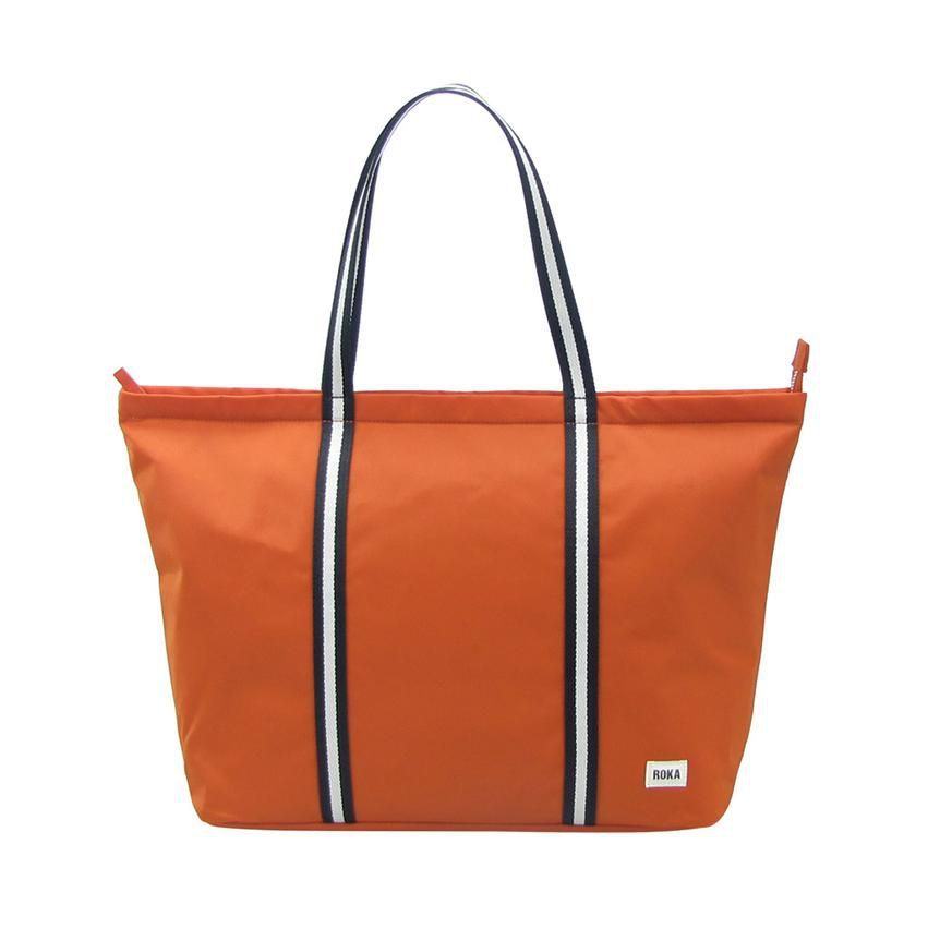 Roka Piccadilly Bag in Burnt Orange