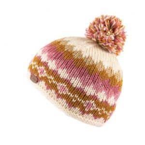 Kusan Bobble Hat in Caramel