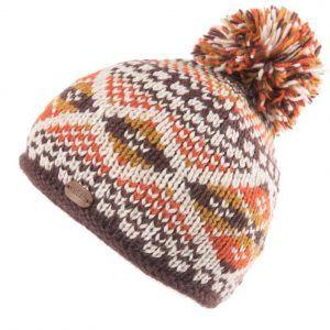 Kusan Bobble Hat in Orange
