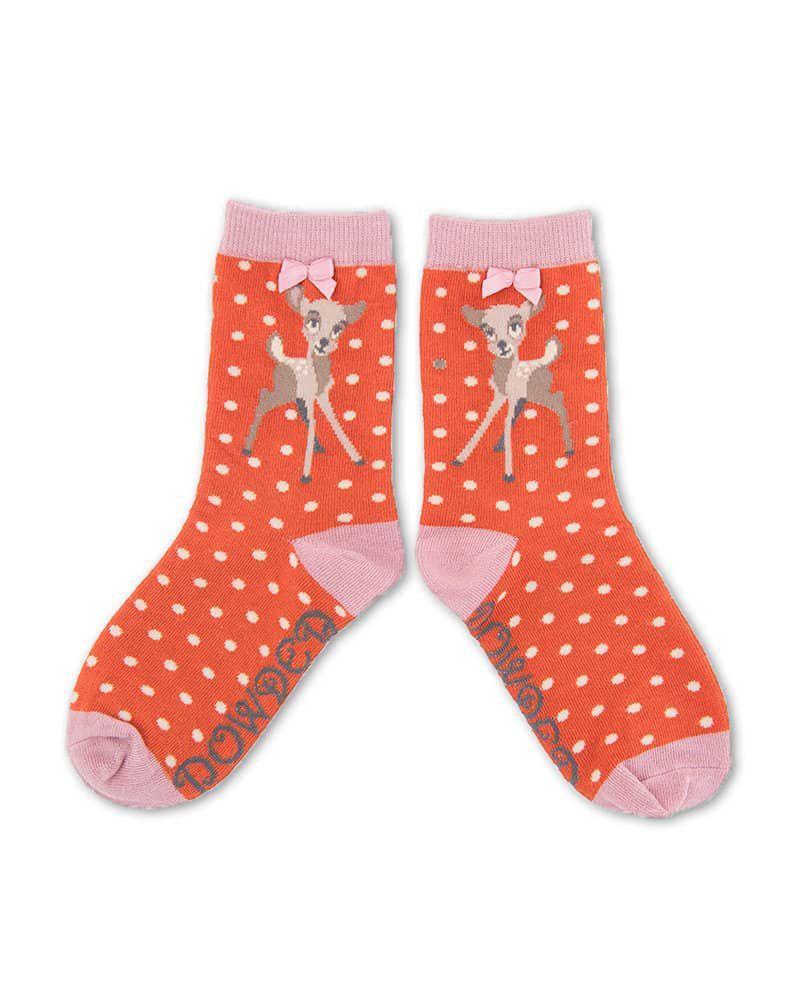 Powder Little Girl's Bambi Socks Age 5 - 7 years