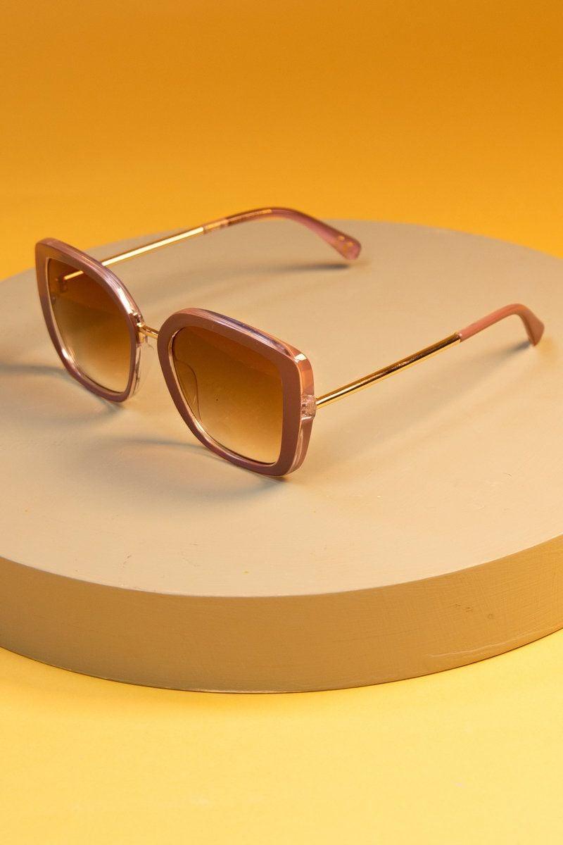Powder Serenity Sunglasses in Nude