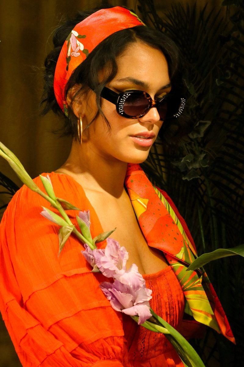Powder Arianna Sunglasses in Tortoiseshell