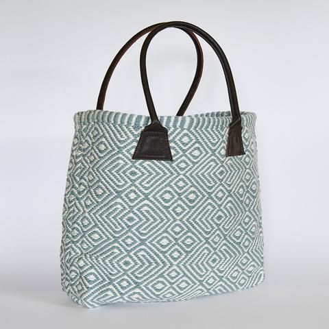 weaver green provence bag in Teal 2