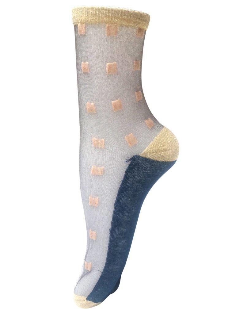 Unmade Copenhagen Bella Sock in Navy