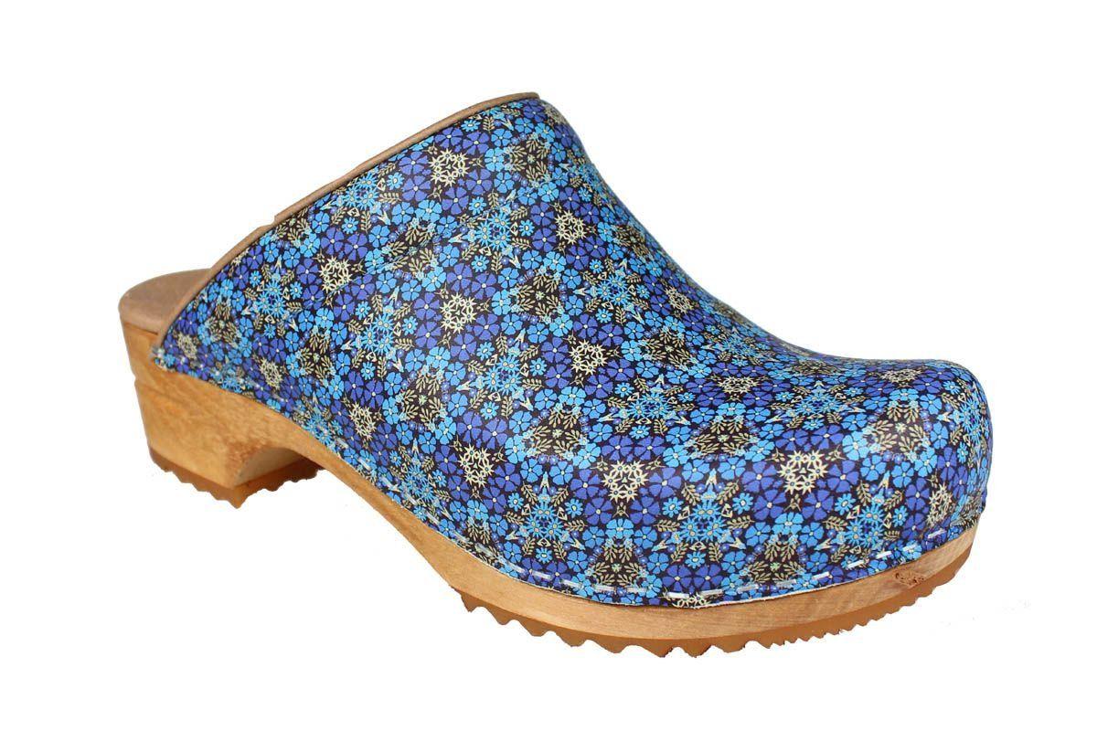 Sanita Rajan Classic Clog in Blue
