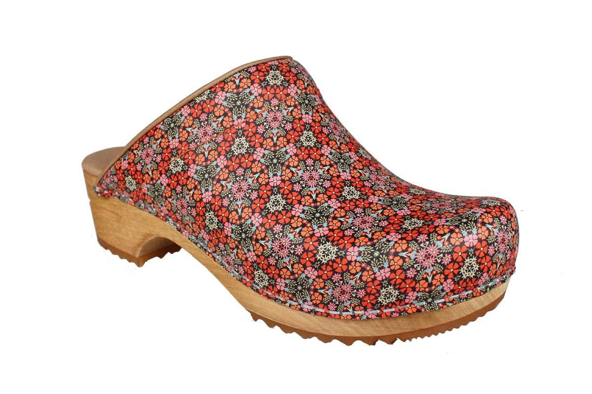 Sanita Rajan Classic Clog in Red